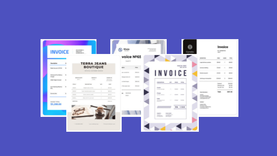 Use your brand identity on invoices