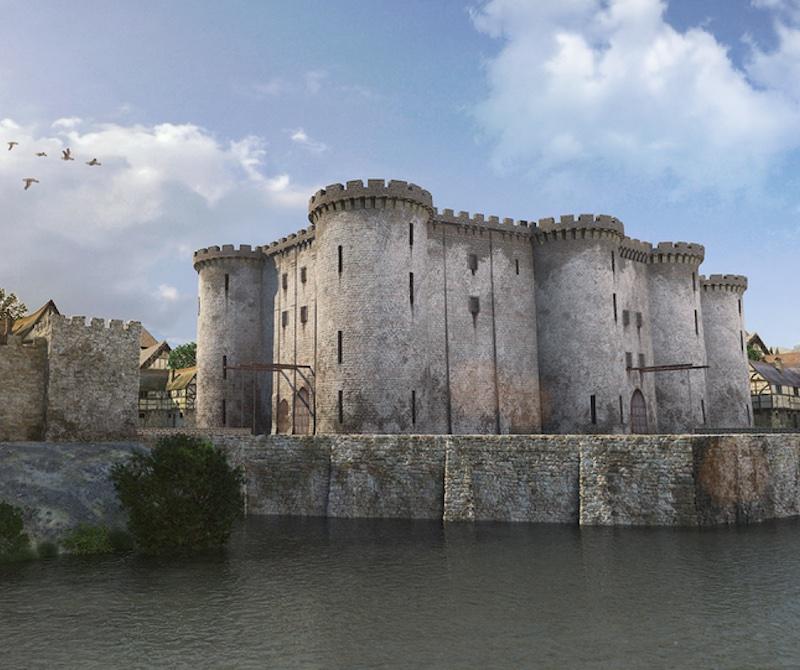 Bastille prison 3D
