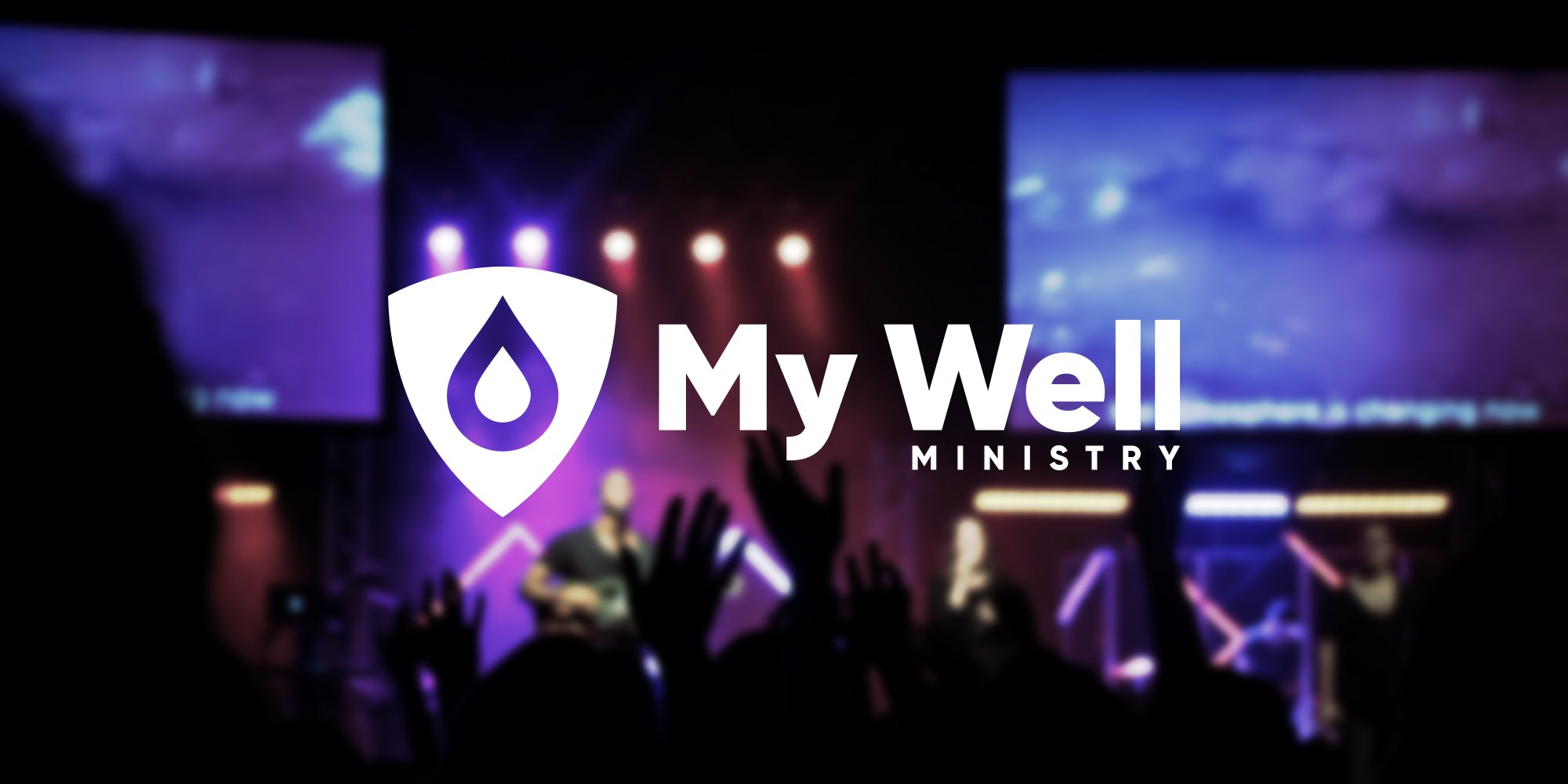 My Well Ministry New Brand Poster