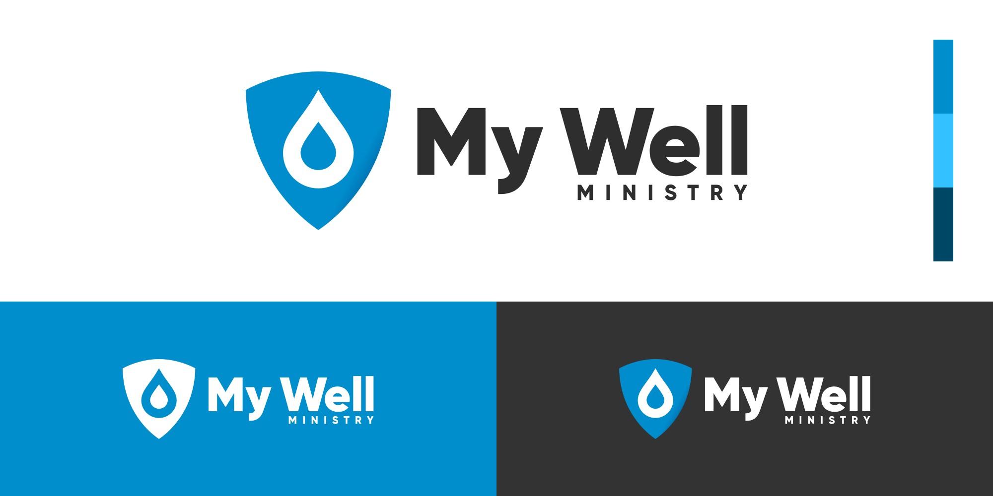 My Well Ministry New Brand & Logo Lockup