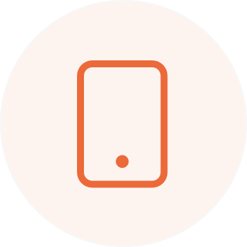 Illustration of a smartphone