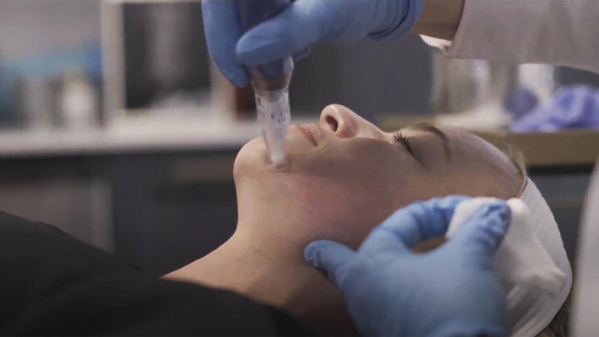 Demonstration performed by Amanda J. Conti at Bespoke Rx in Tampa: Microneedling