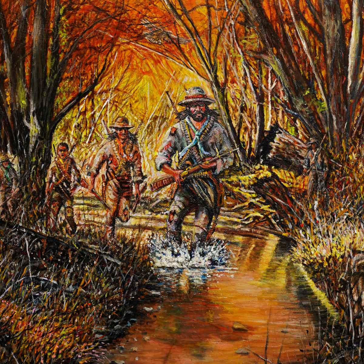 Henry Berry Crossing Lumbee River
