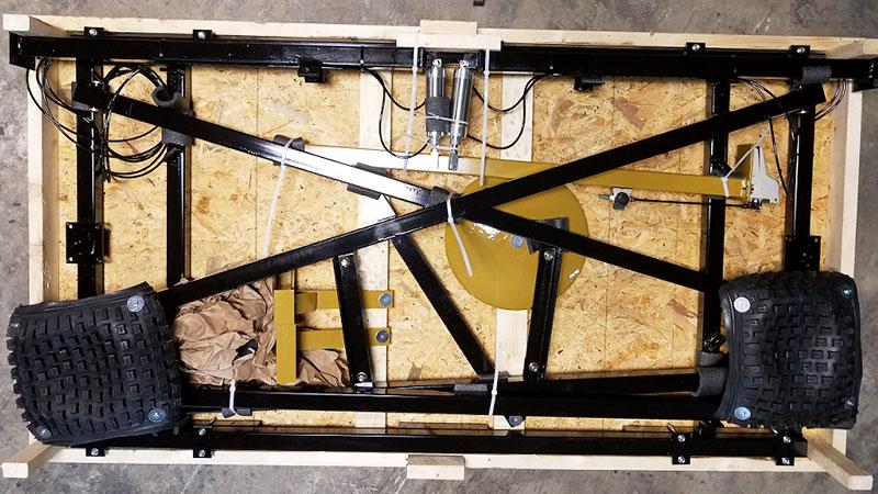 Grappler 450 – Partially Assembled