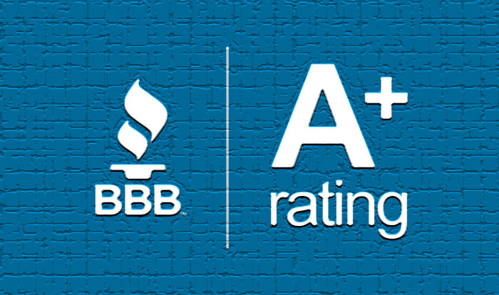 Logo of BBB A+ rating for Tax Alliance
