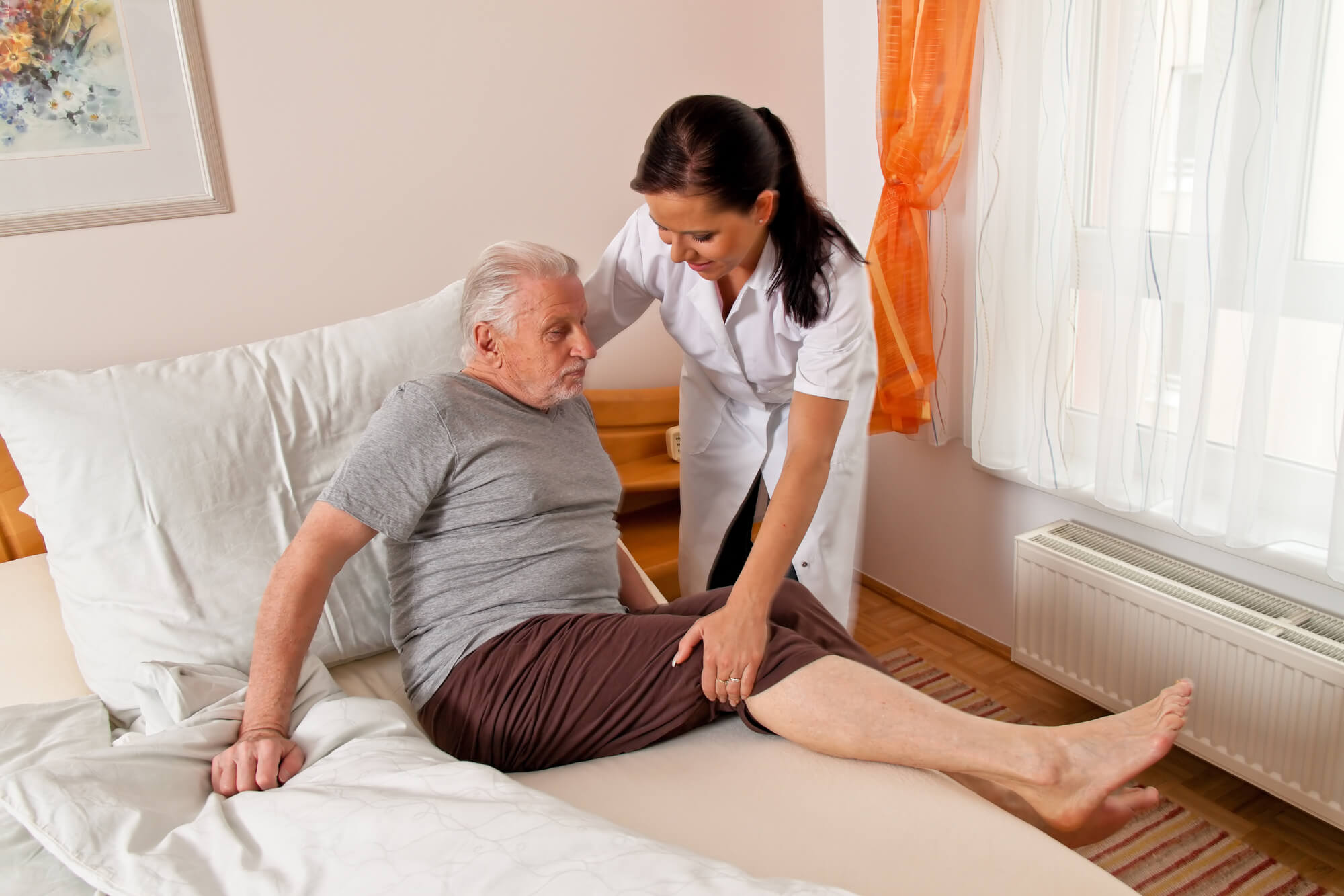 Nurse offering private home care in NYC.
