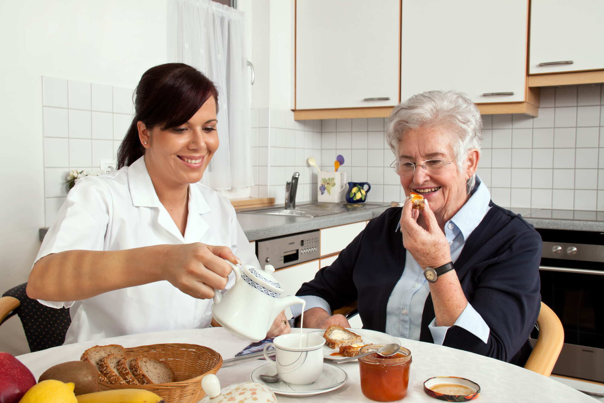 Choosing the best home care in Morris County.