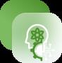 a green brain icon
