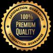 100% Permium Quality Badge