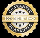 Money Back Guaranteed badge