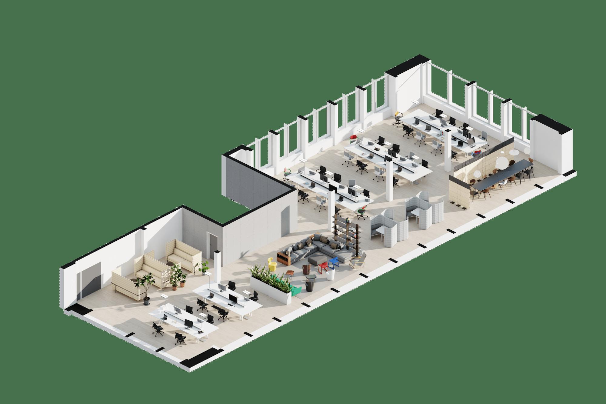 Open Space Archilogic 3D Model