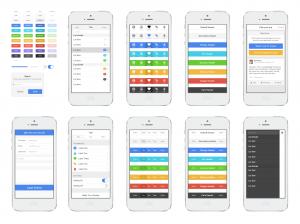 Exemple de kit d'interface utilisateur Ionic