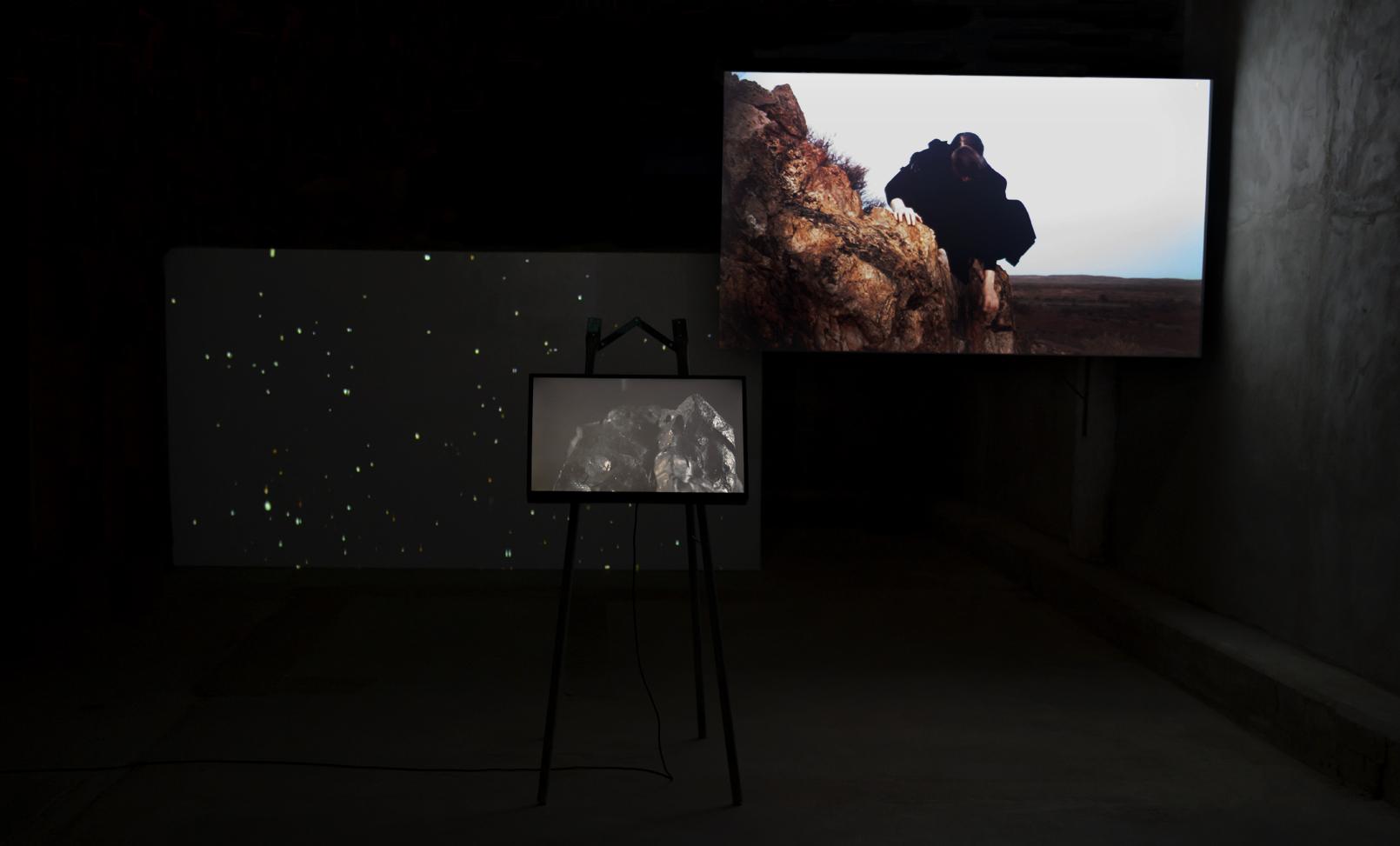 The Terrestrial Scene 3 channel video
