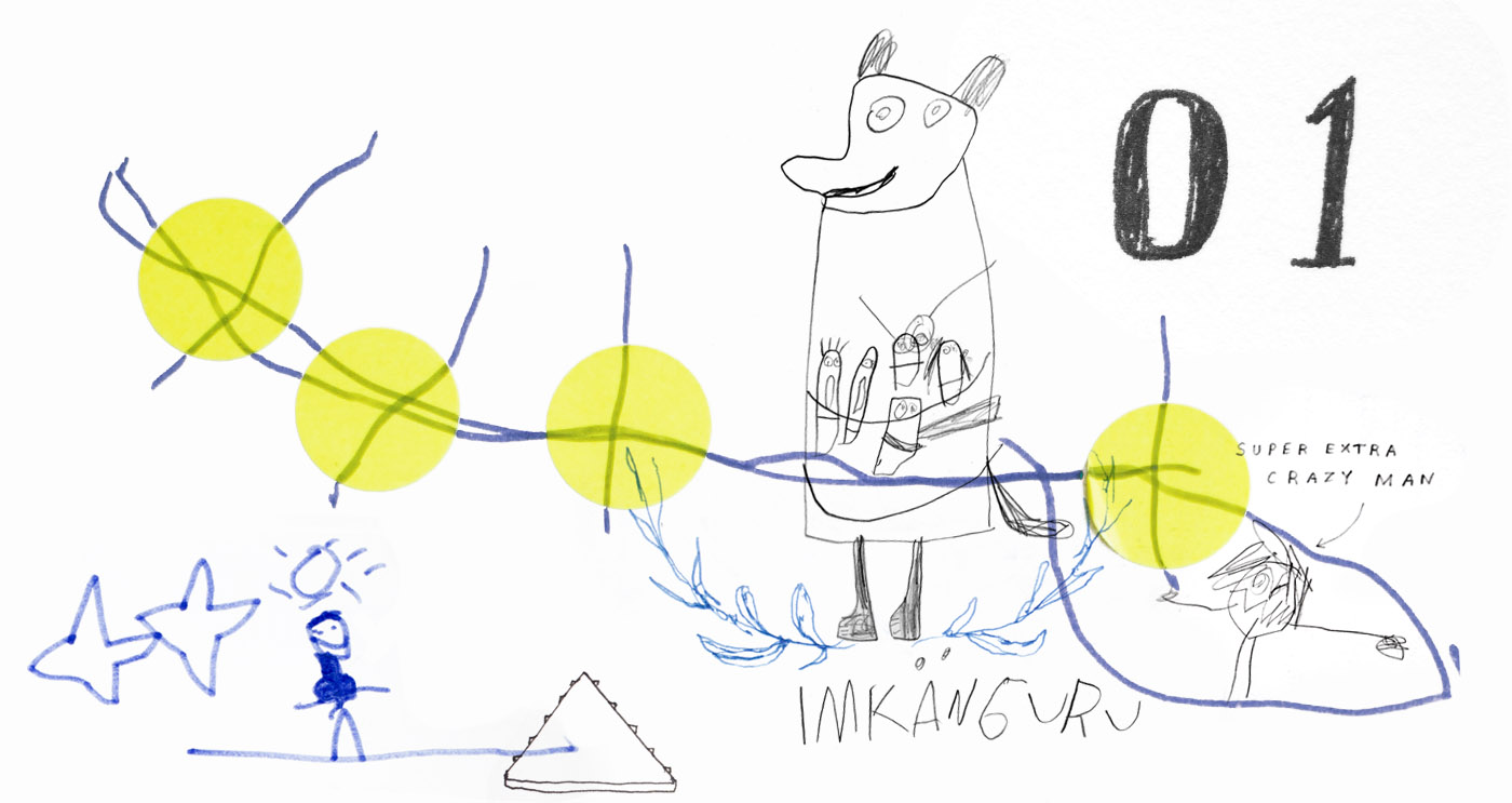 Family scribbles