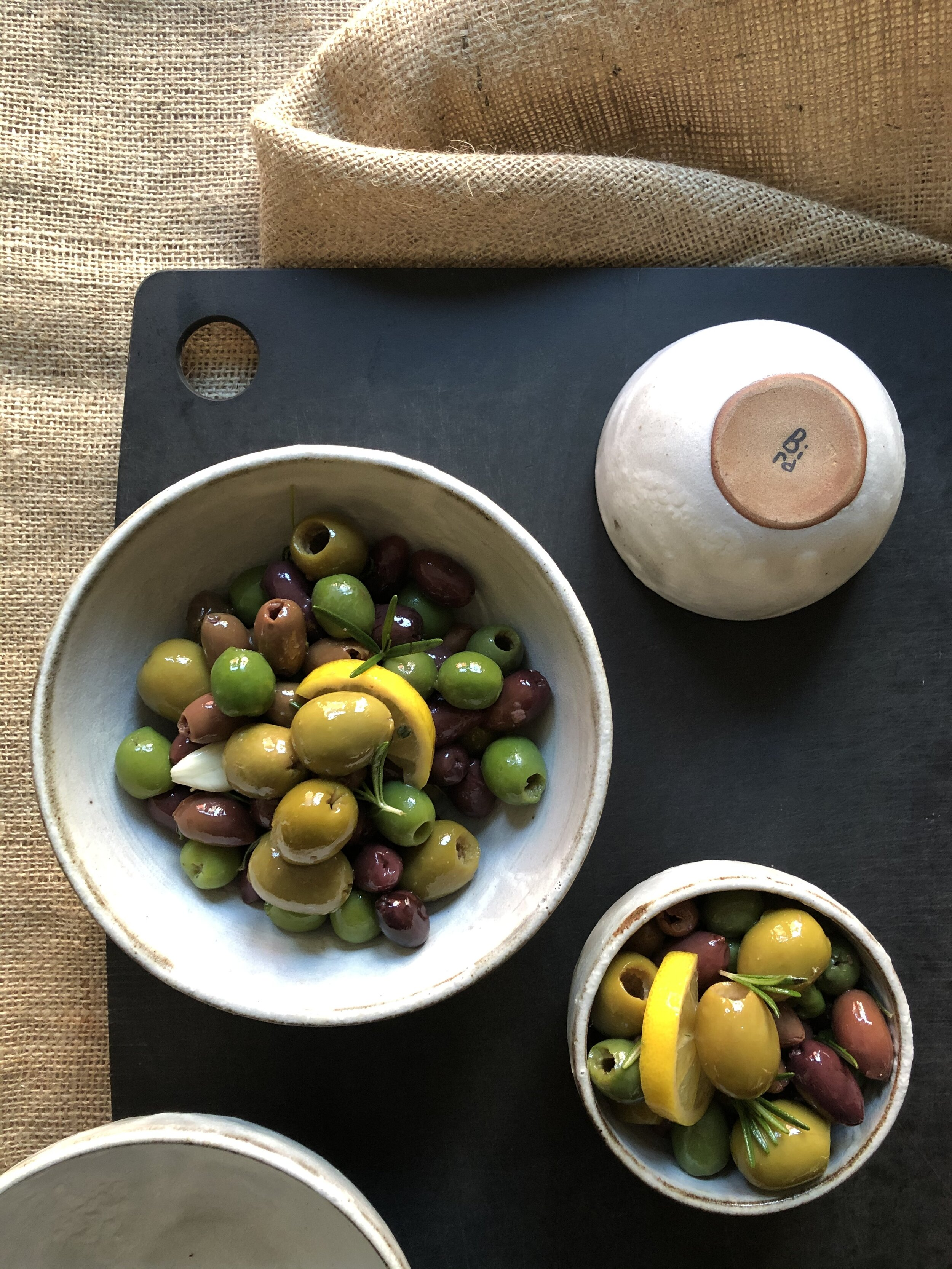 House-marinated Mixed Olives  (200g)