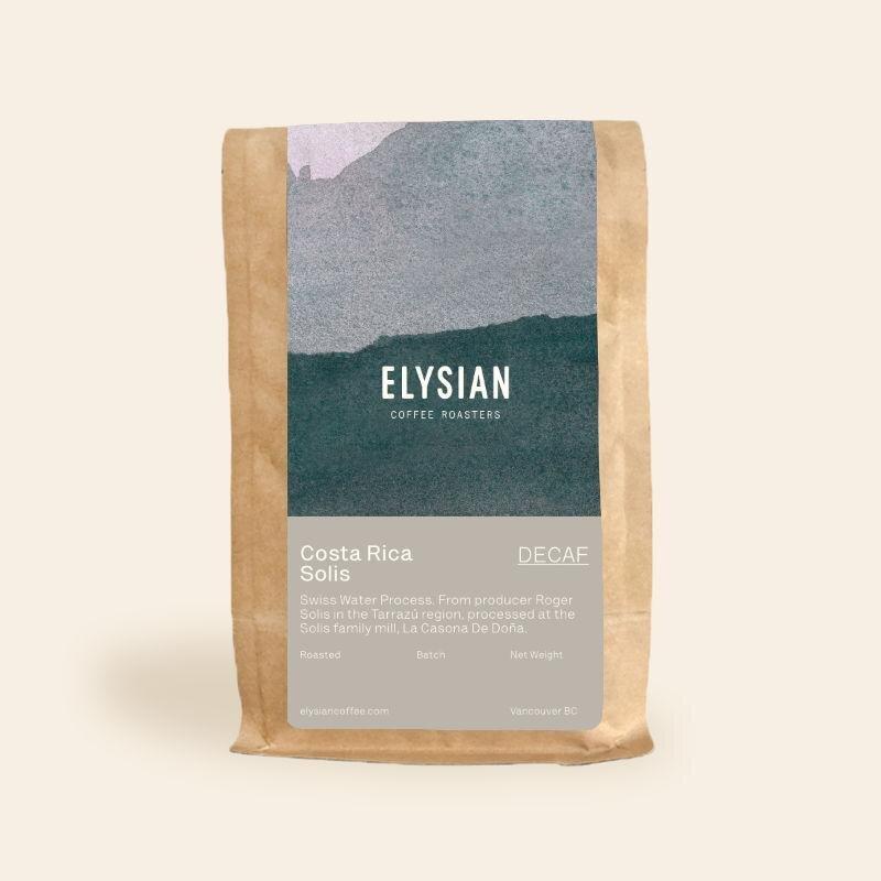 Elysian Decaf Coffee Beans