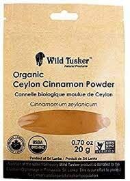 Wild Tusker Organic Cinnamon Powder