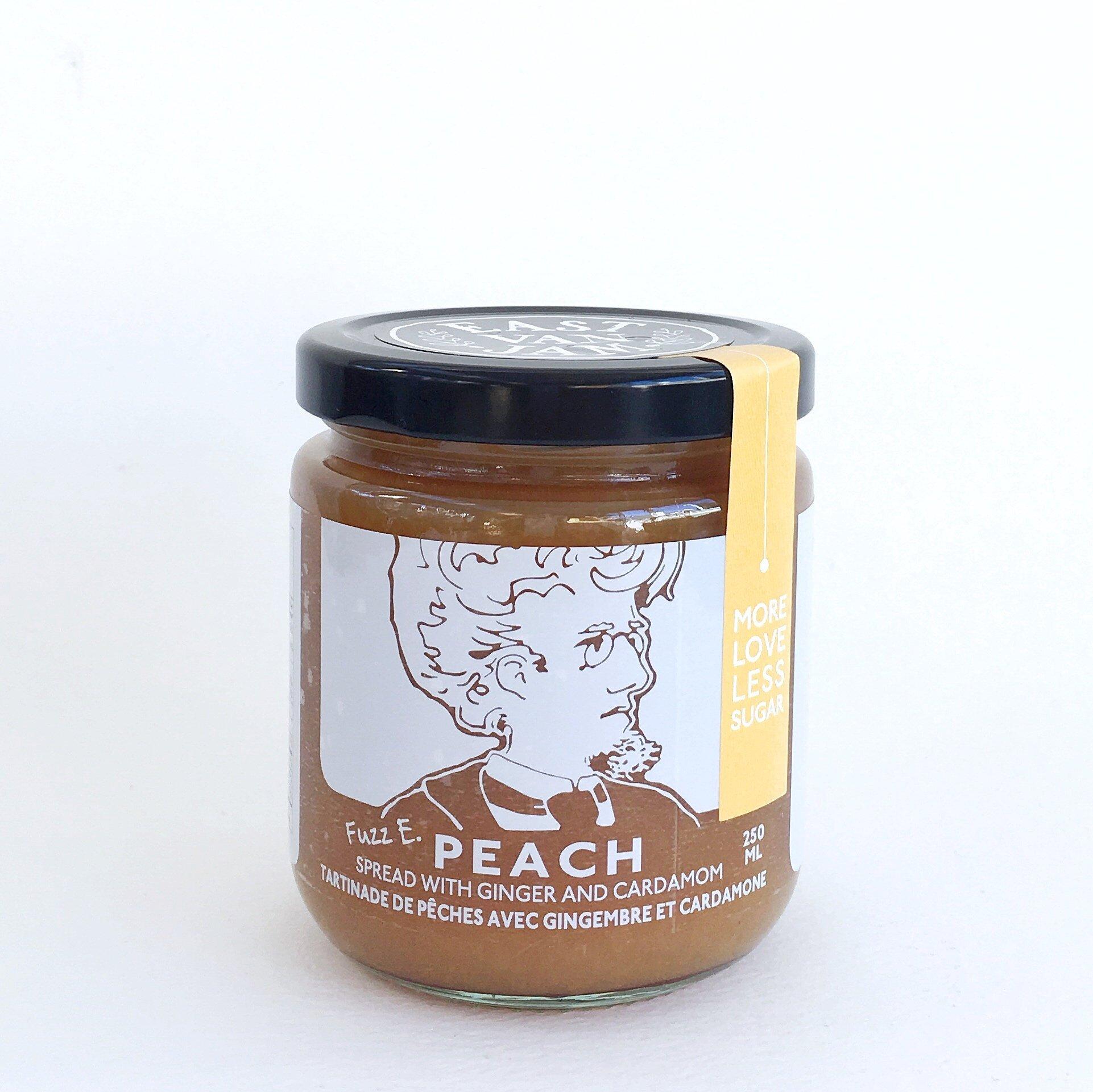 East Van Jam Peach with Ginger + Cardamom