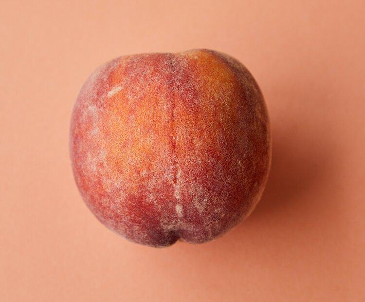 fresh peach farm to table