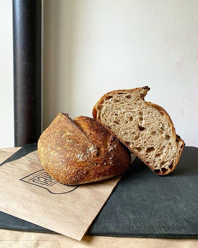 all of our sourdough bread is fermented