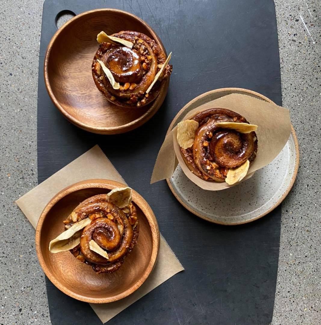 perfect vegan cinnamon buns