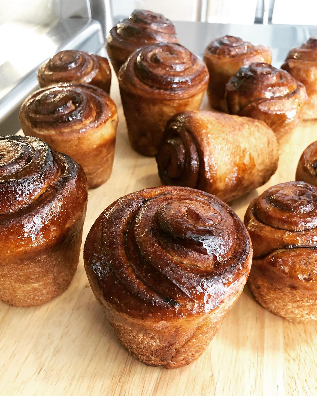 vegan cinnamon buns from BReD the best snacks to pack for a hike in Whistler