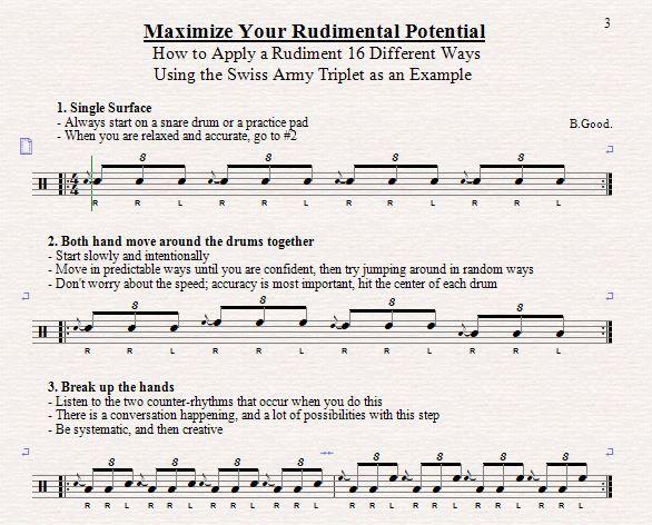 Maximize Your Rudimental Potential