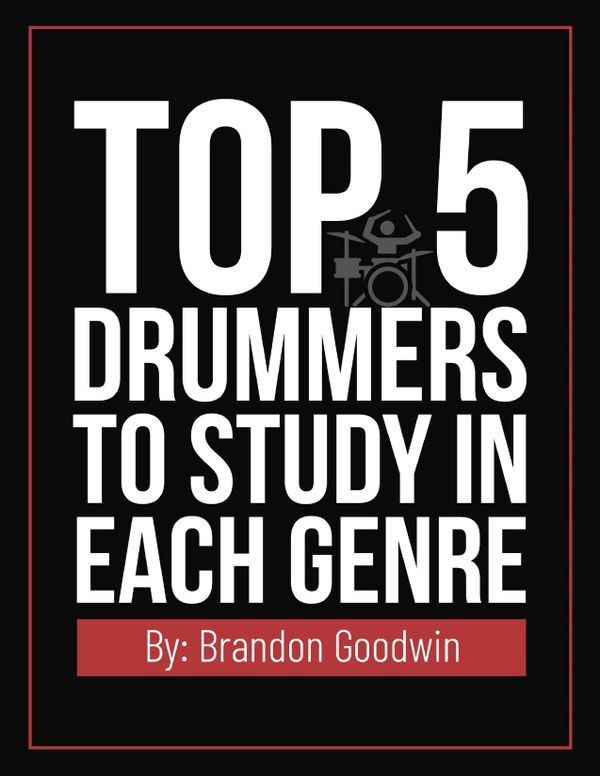 Top 5 Drummers To Study In Each Genre