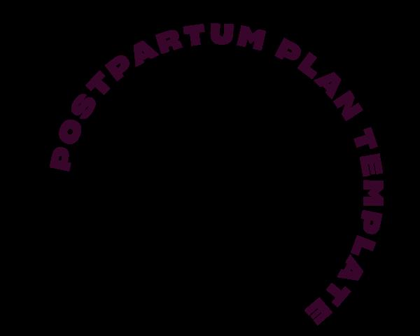 Postpartum Support Plan Template