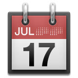 a calendar icon