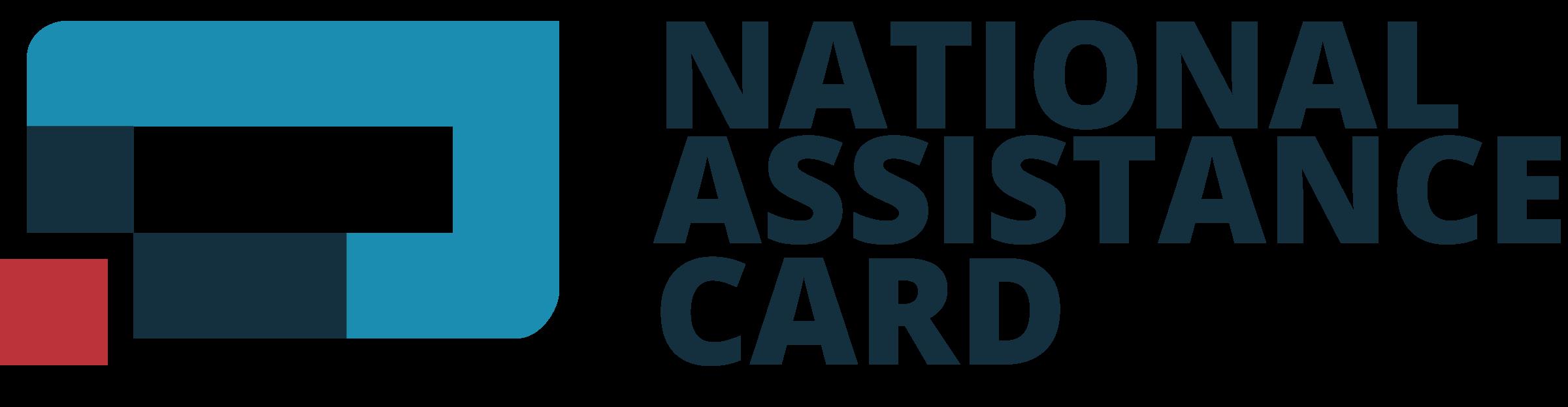 national assistance card logo