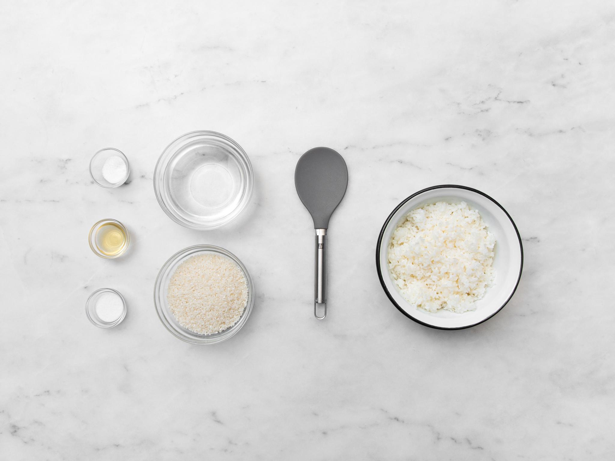 Schnell Sushireis kochen
