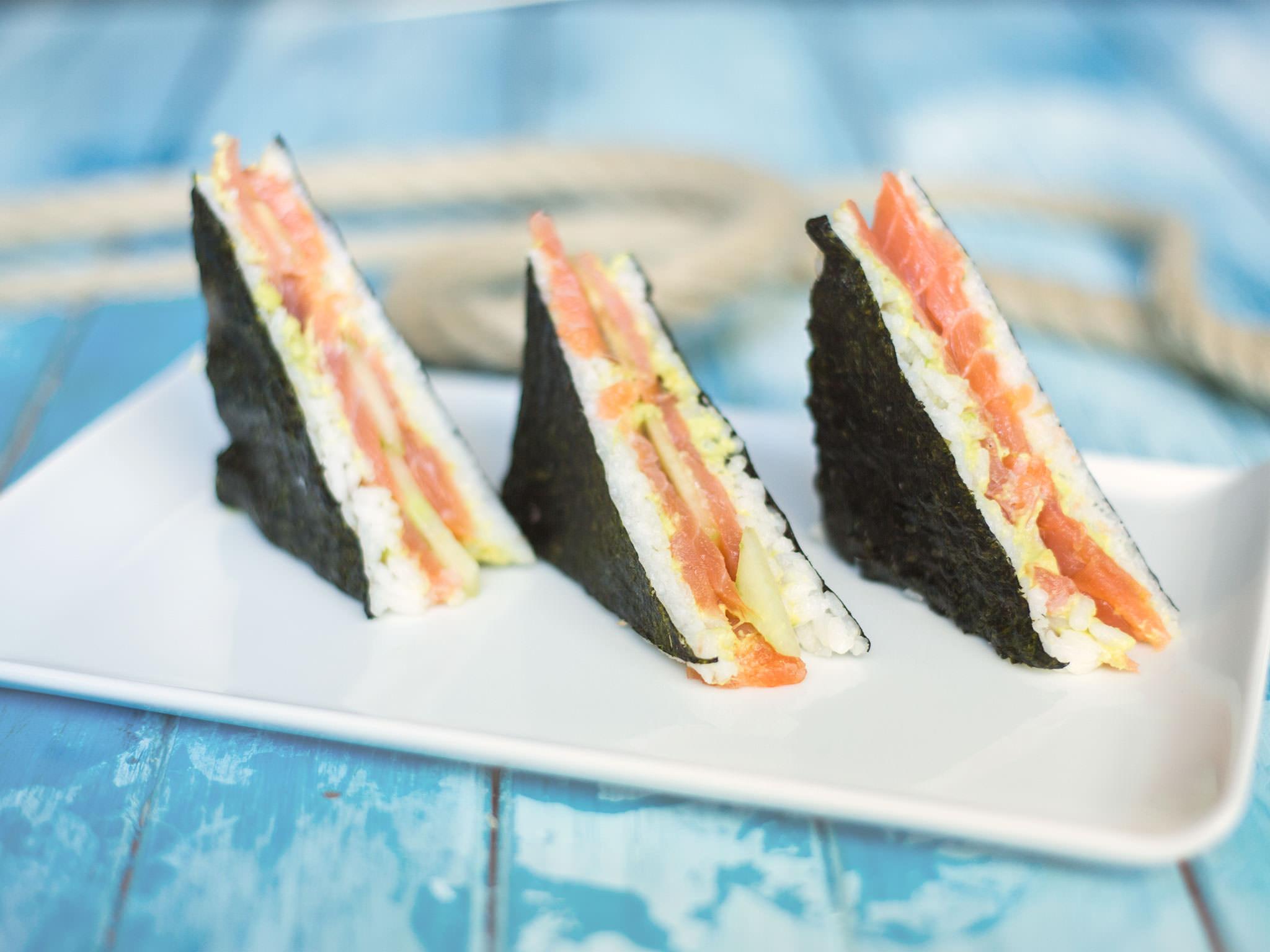 Einfaches Nori-Sandwich