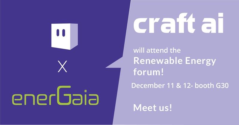 Meet craft ai at EnerGaïa