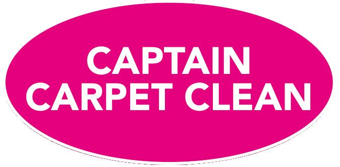 Captain Carpet Clean logo.