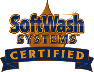 Softwash Systems Certified badge.