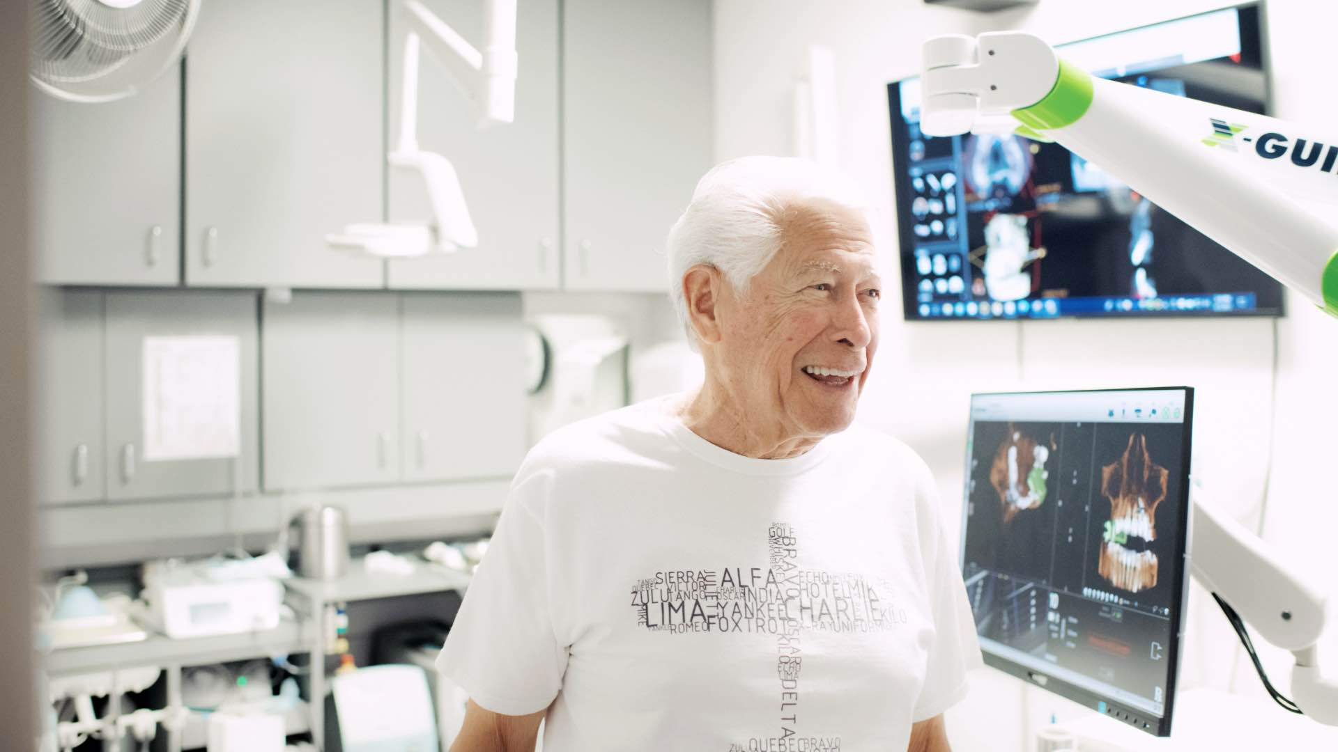 Photo of a patient smiling
