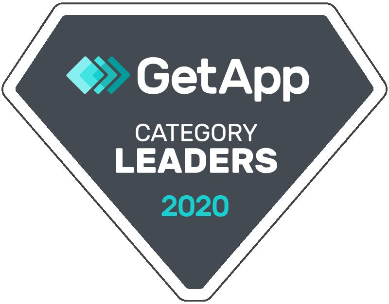 GetApp Category Leader 2020 Badge