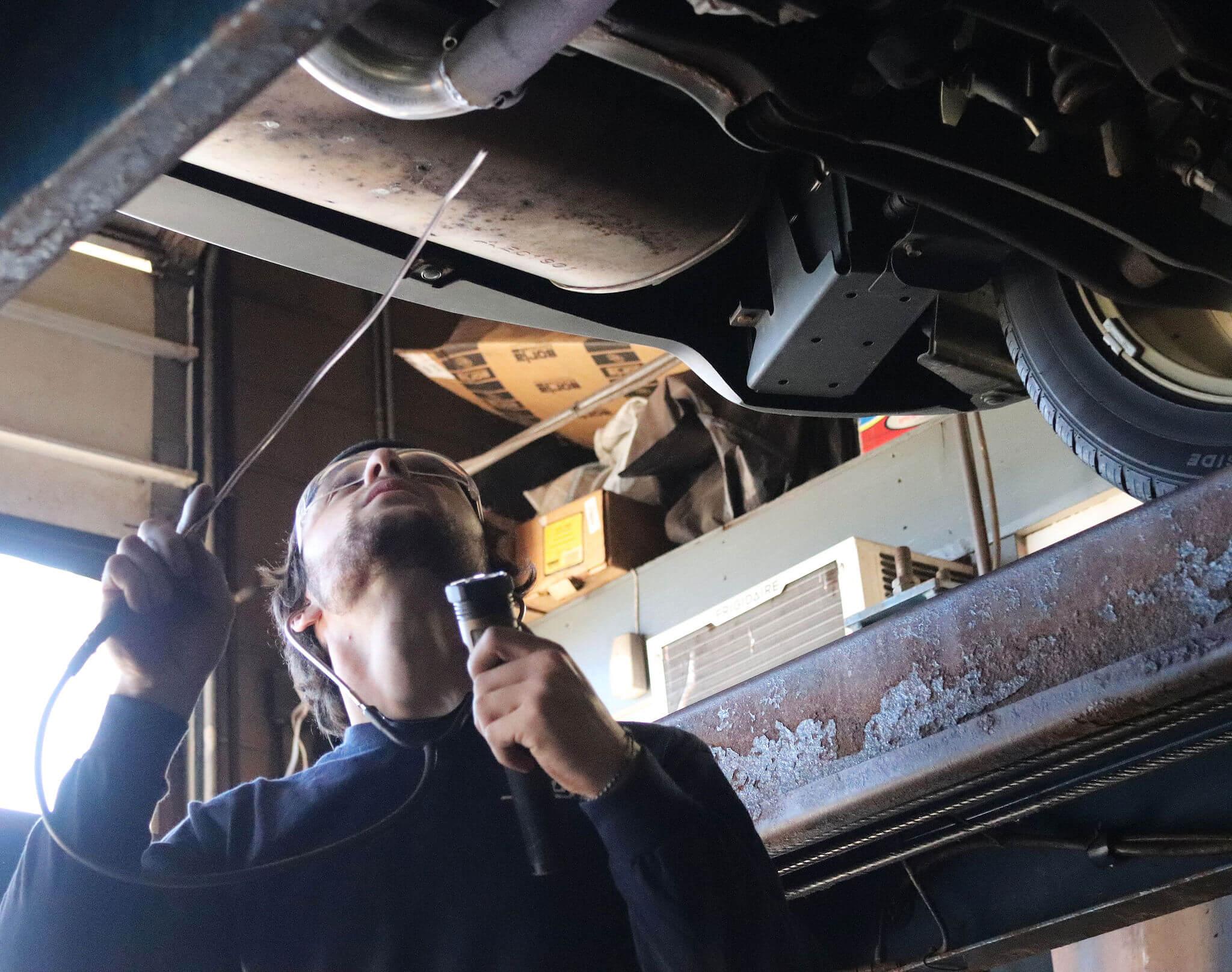 Catalytic Converter Inspection