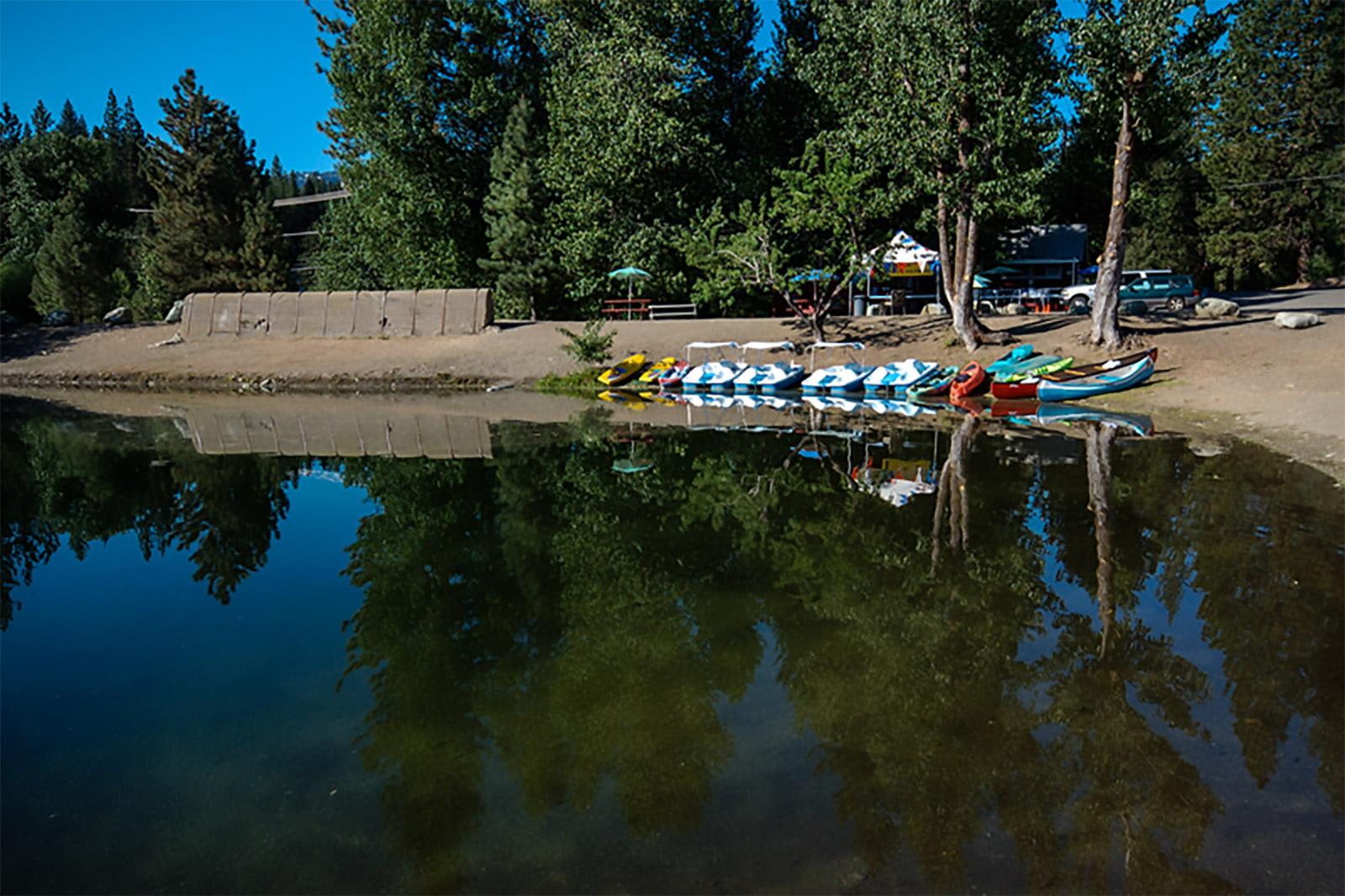 Graeagle Mill Pond Boats