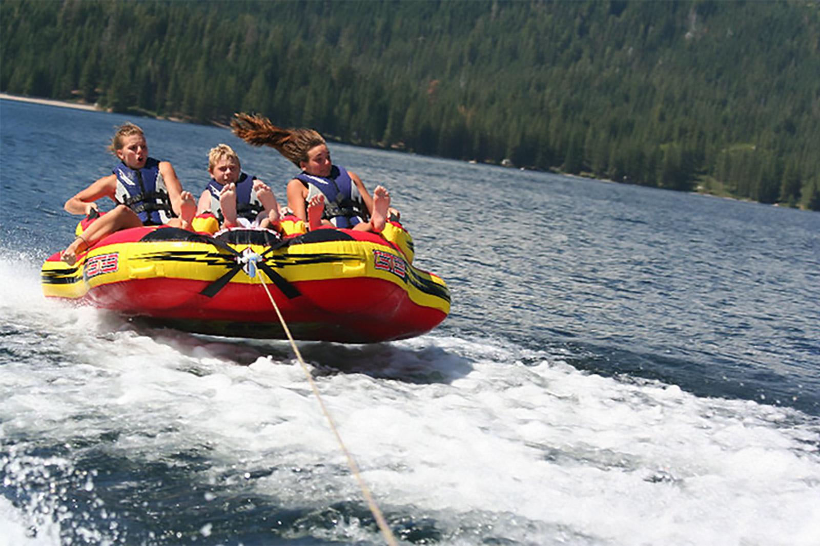 Water Fun at Buck's Lake