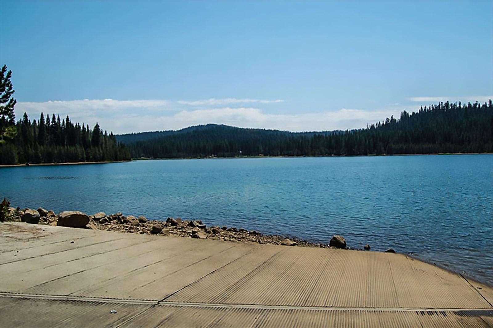 Little Grass Valley Reservoir at La Porte