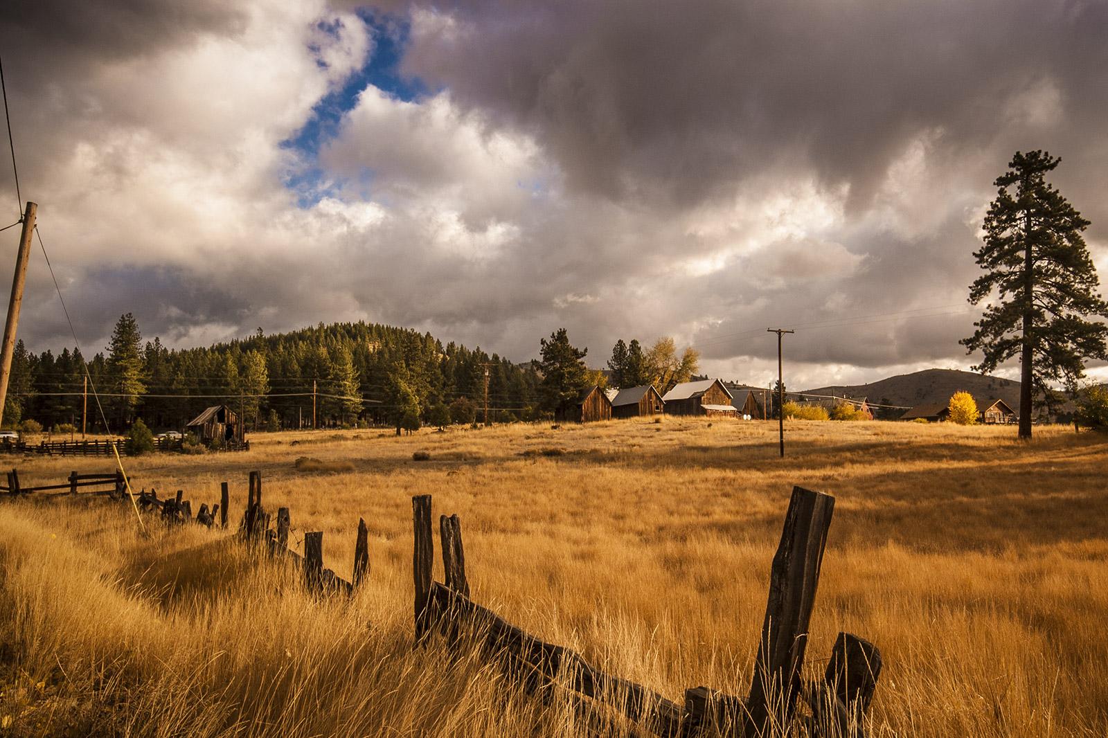 Fall Field in Beckwourth