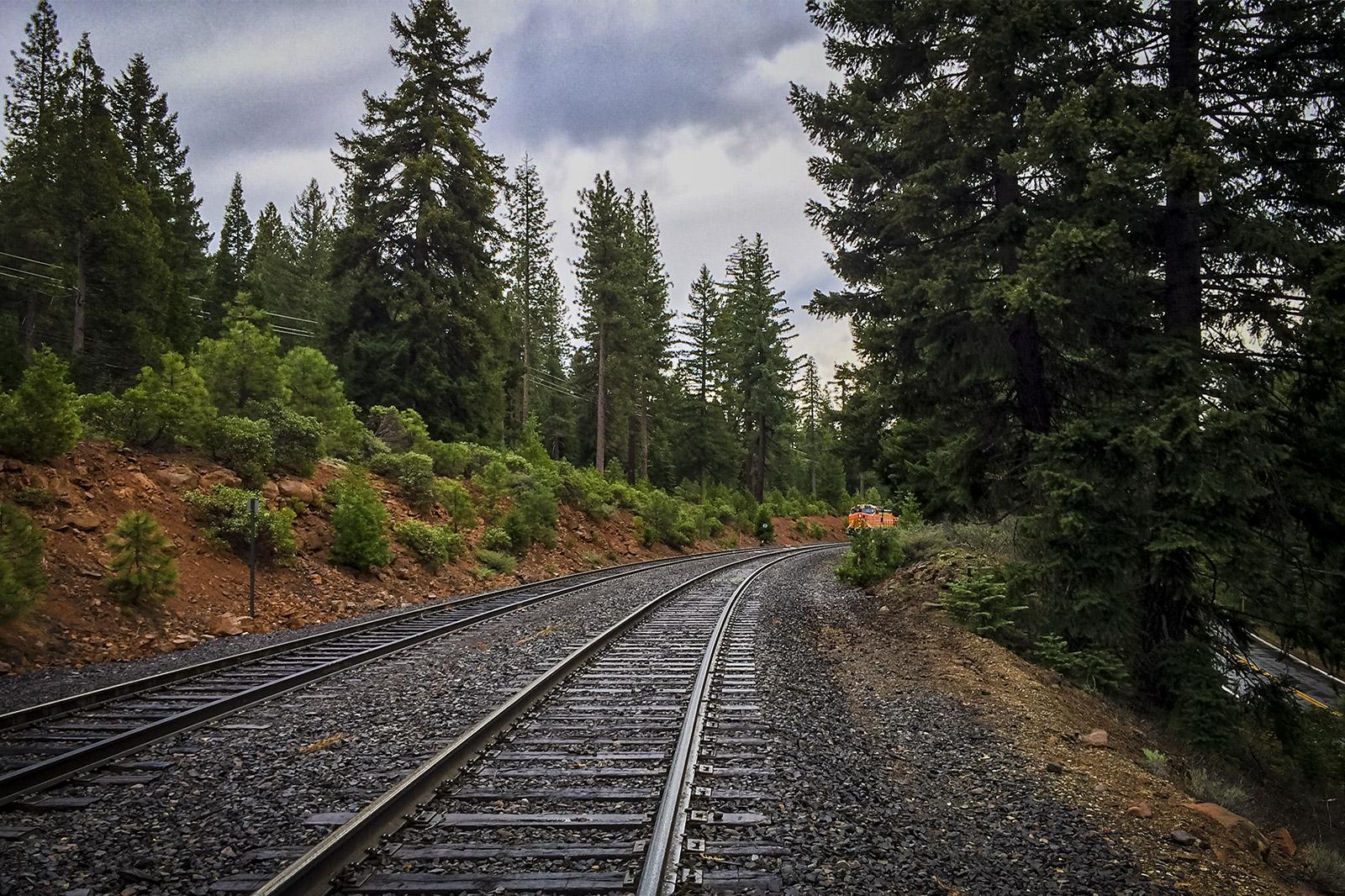 Train Tracks near Lake Almanor