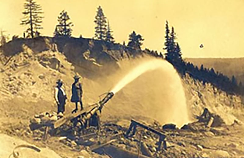 Historic Plumas County Photo - Bean Hill