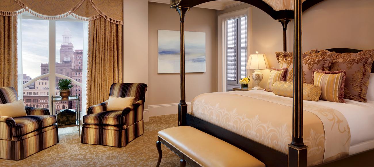 The Ritz Carlton Standard Room Window View