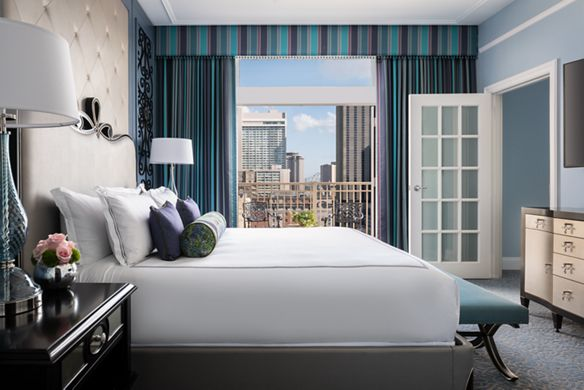 The Ritz Carlton Master Suite Window View