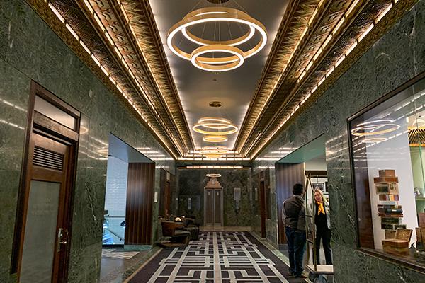 The SInclair Lobby