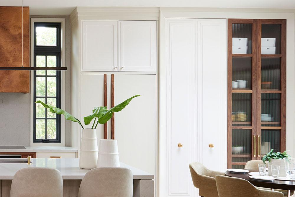 Kitchen cabinet custom design in Toronto.