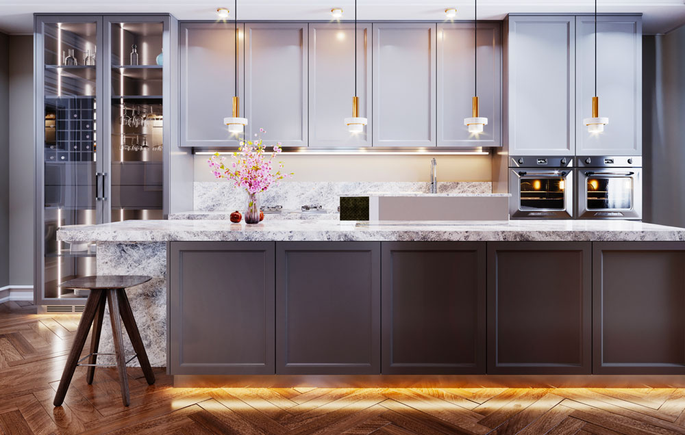 Planing and designing of a kitchen by Eureka.